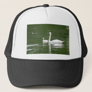 Swan and her Cygnet Trucker Hat