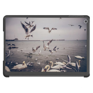 Swan and Seagulls iPad Air Cases