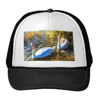 Swan Art Cap