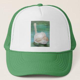 Swan Art hat