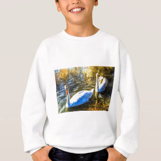 Swan Art Sweatshirt