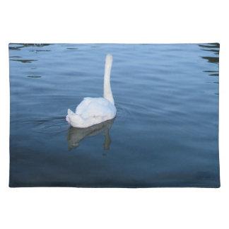 Swan at Hampton Court Palace, UK Placemat