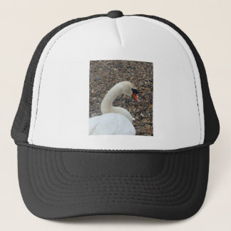 Swan at Rest Trucker Hat
