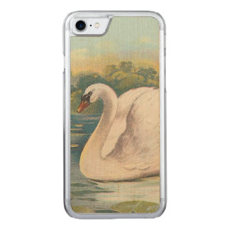 Swan Carved iPhone 8/7 Case