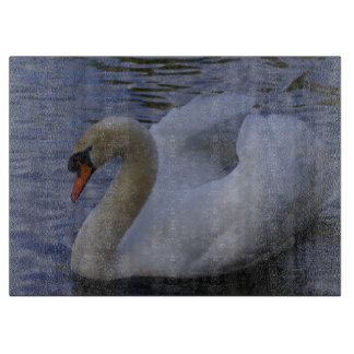 Swan Chopping Board