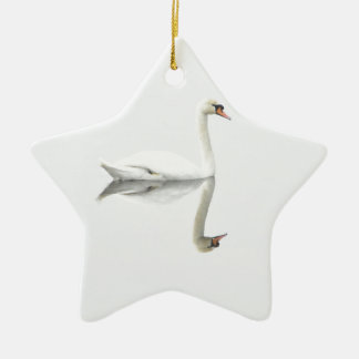 Swan Christmas Ornament