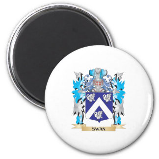 Swan Coat of Arms - Family Crest Refrigerator Magnets