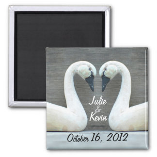 Swan Country Wedding Magnet