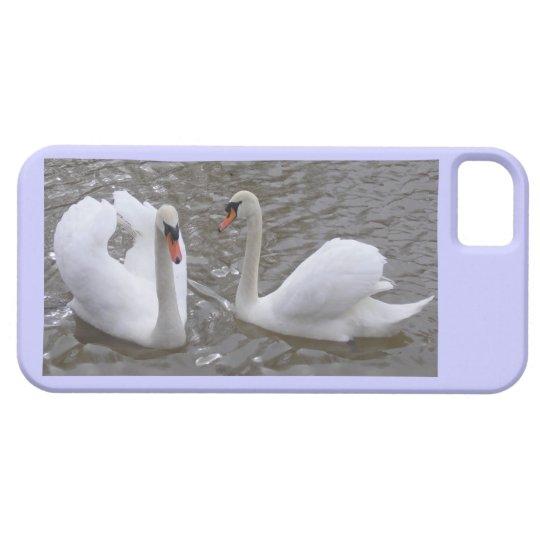Swan Couple Iphone5/5S case