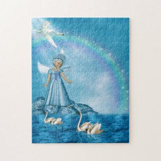 Swan Fairy Jigsaw Puzzle