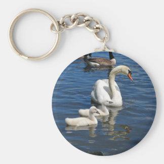 Swan Family ~ keychain