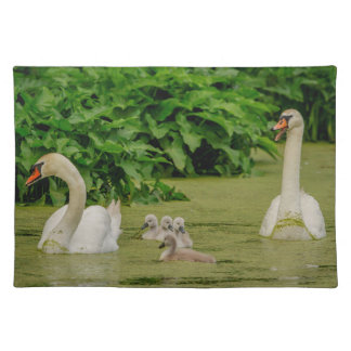 Swan Family Placemat