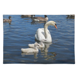 Swan Family ~ placemat