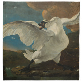 Swan fine art Asselijn Napkin