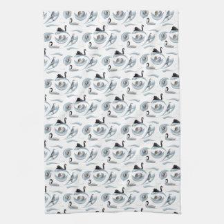 Swan Frenzy Kitchen Towel (choose colour)