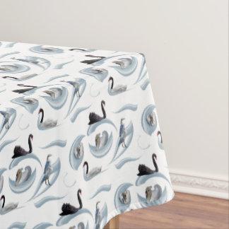 Swan Frenzy Tablecloth (choose colour)