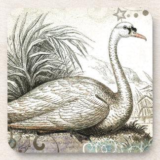 Swan Graphic Coaster