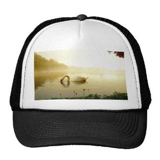 Swan Mesh Hats