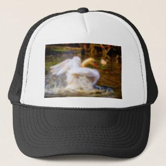 Swan Hat/Cap Trucker Hat