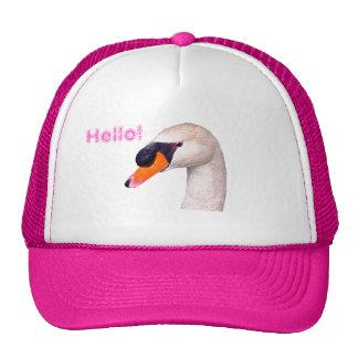 Swan Hello! Cap
