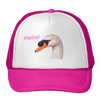 Swan Hello! Hats