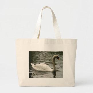 Swan in the Lake Tote Bag