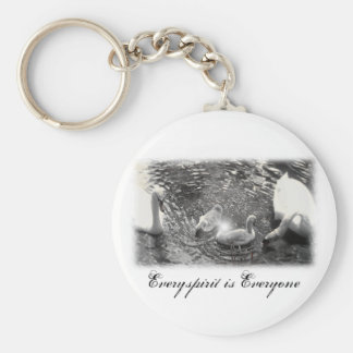 Swan Items Key Ring
