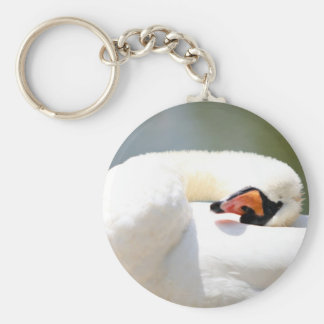 swan key ring