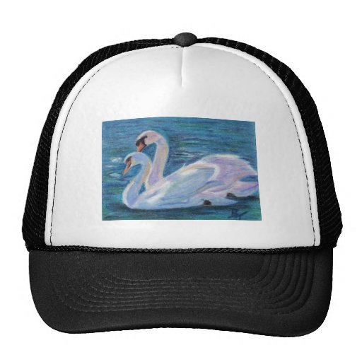 Swan Lake aceo Hat
