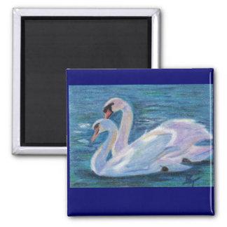 Swan Lake aceo Magnet
