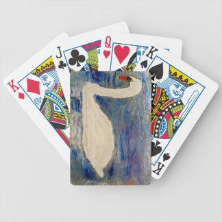 Swan Lake Art Bicycle Playing Cards