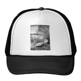 Swan Lake Art Cap