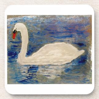 Swan Lake Art Coaster