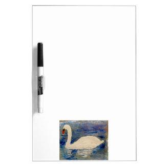 Swan Lake Art Dry Erase White Board