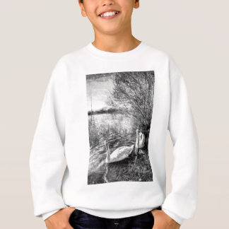 Swan Lake Art Sweatshirt