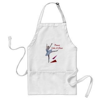 'Swan Lake Ballerina' custom Standard Apron
