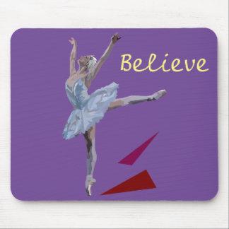'Swan Lake Ballerina' Mouse Mat