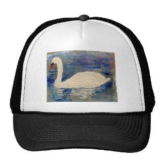 Swan Lake Mesh Hat