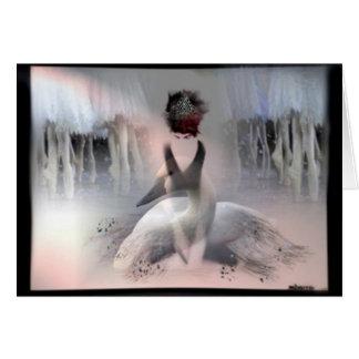 Swan Lake Card