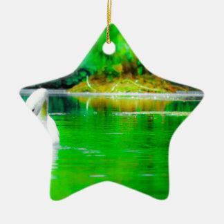 Swan Lake Christmas Ornament