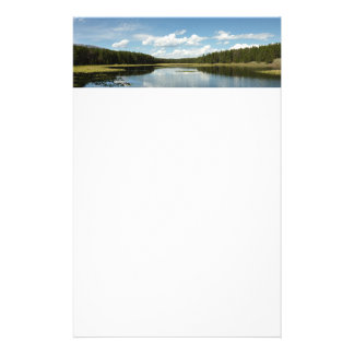 Swan Lake II at Grand Teton National Park Personalised Stationery