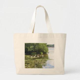 Swan Lake Jumbo Tote Bag