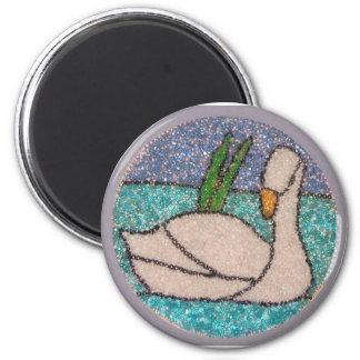 Swan Lake Fridge Magnet