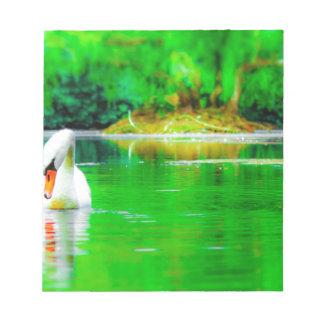 Swan Lake Notepad