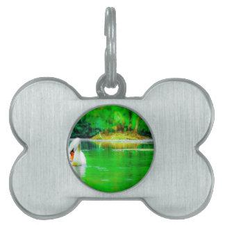 Swan Lake Pet ID Tags