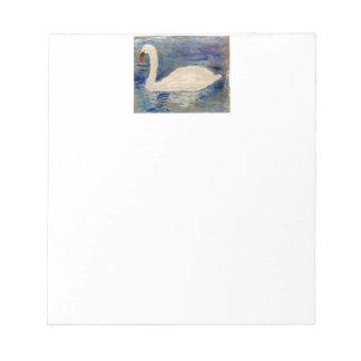 Swan Lake Reflections Notepad