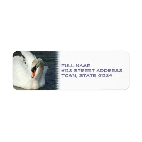 Swan Lake Return Address Label