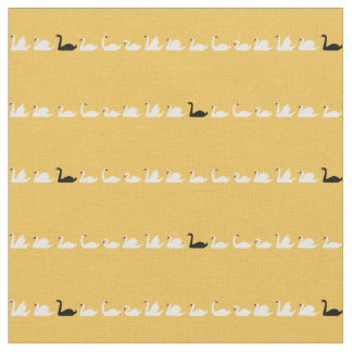 Swan Lake Small Swans Fabric