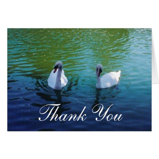 Swan Lake - thank you cards