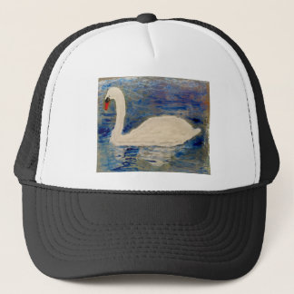 Swan Lake Trucker Hat